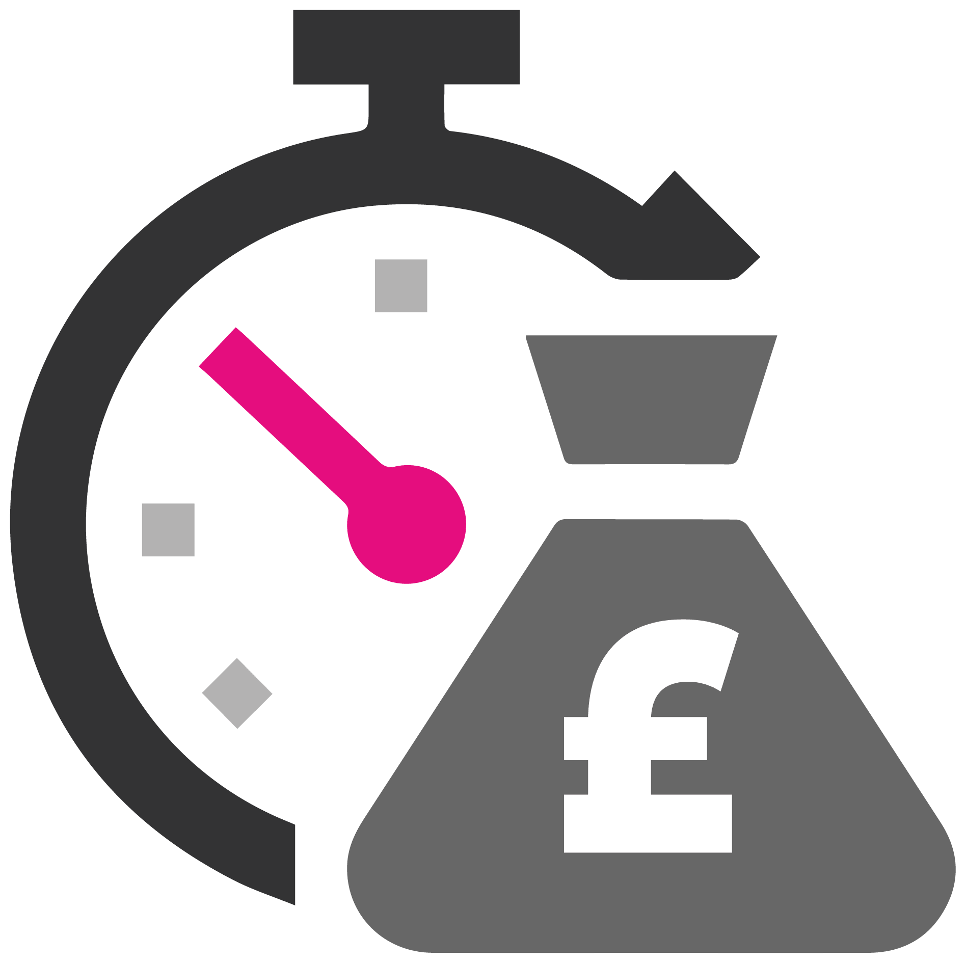 Save Time & Money Icon
